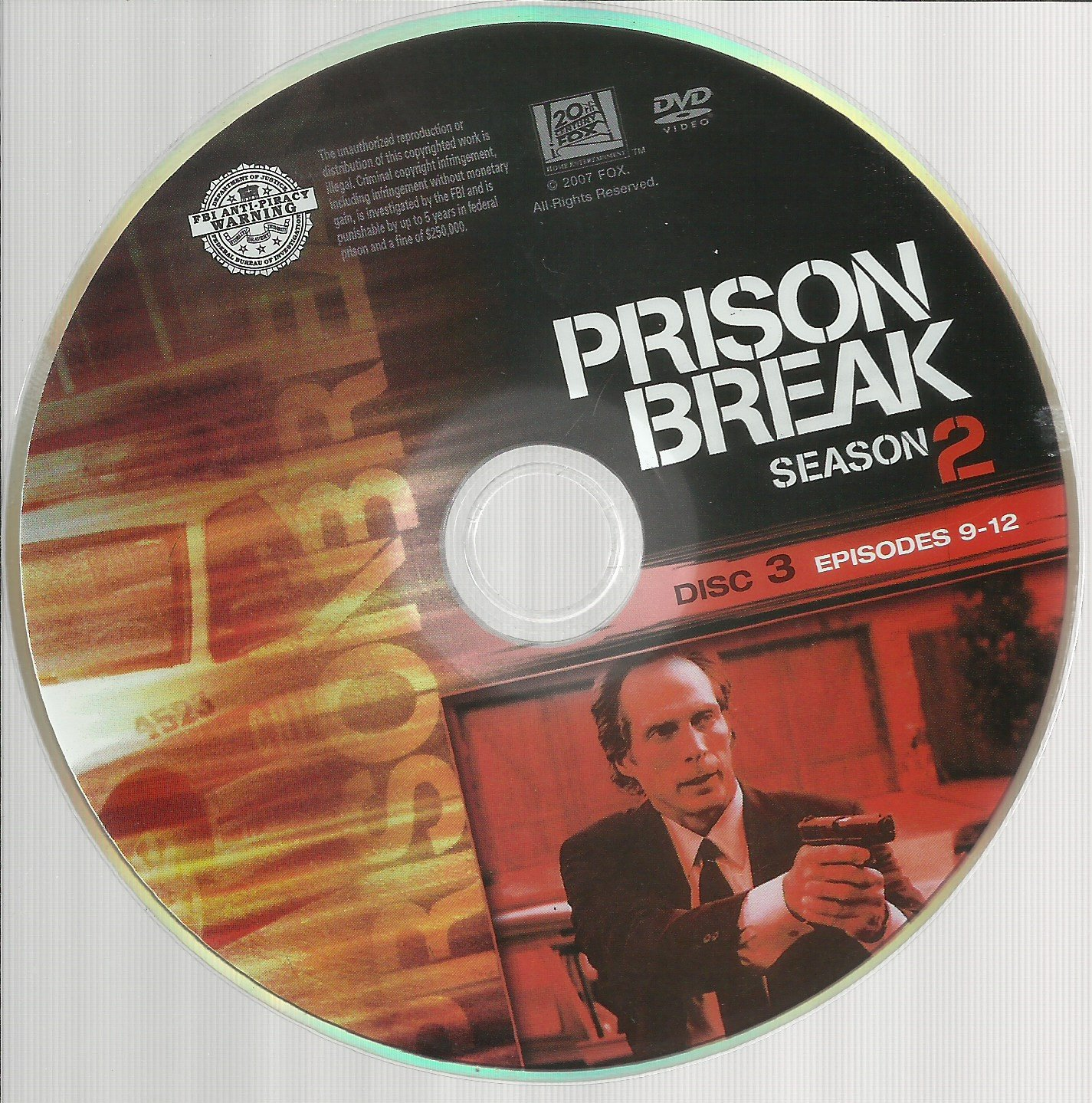 Amazoncom Prison Break Season 2 Disc 3 Replacement Disc
