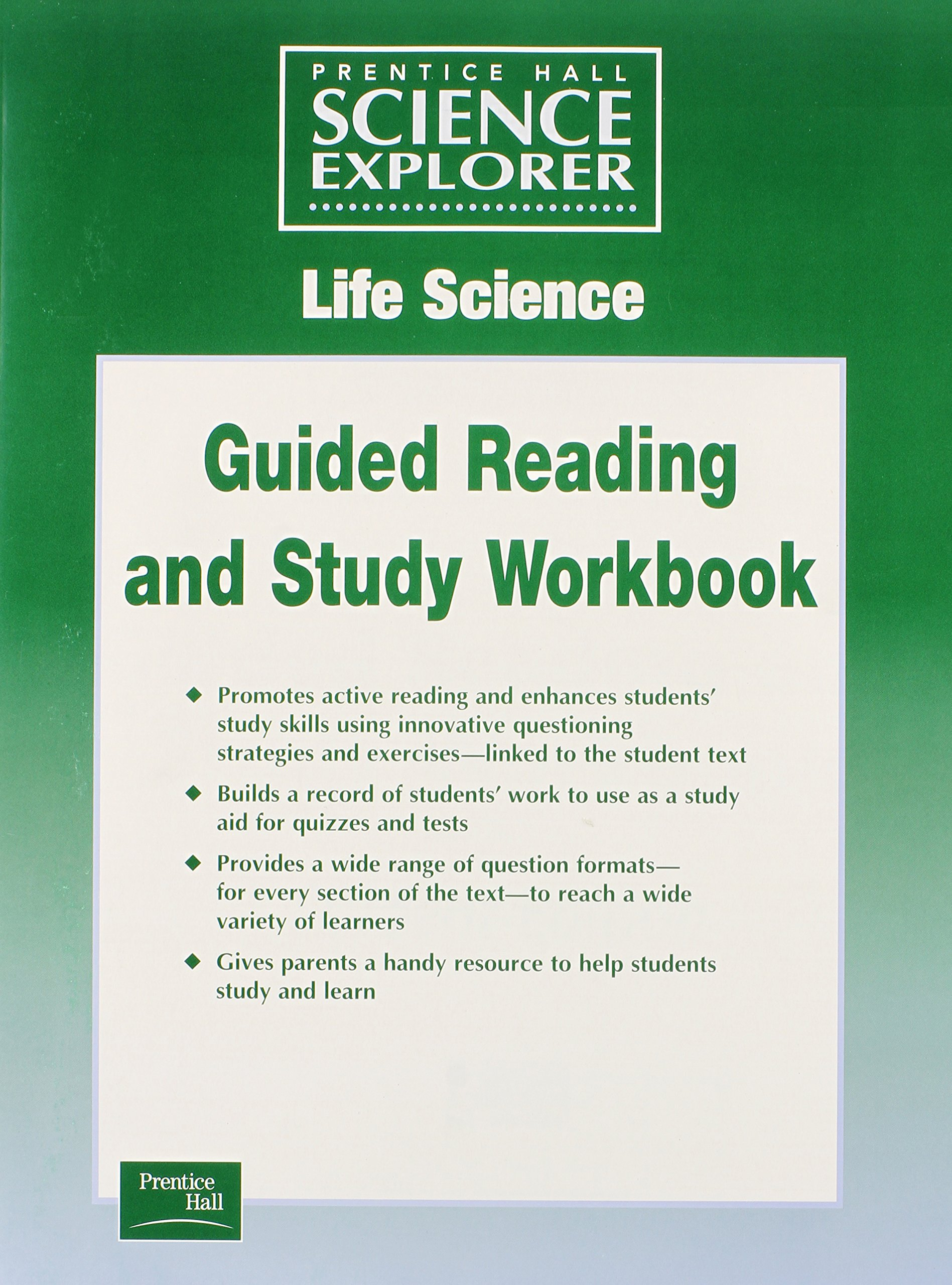 SCIENCE EXPLORER LIFE SCIENCE GUIDED STUDY WORKSHEETS SE 2001C – Study Skills Worksheet