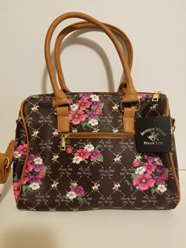c47476242d Image Unavailable. Image not available for. Color  Beverly Hills Polo Club  Womens Faux Leather Printed Tote Handbag ...