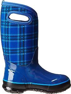 Bogs Kids Classic Winter Plaid Waterproof Winter /& Rain Boot Toddler//Little Kid//Big Kid