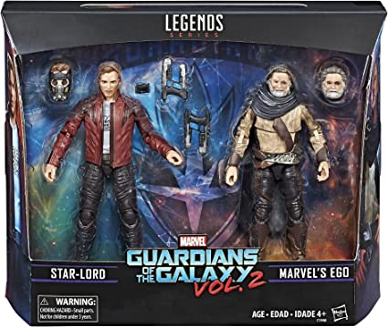 Marvel Legends Guardianes de la Galaxy Vol. 2 Ego y Star-Lord 2-Pack: Amazon.es: Juguetes y juegos