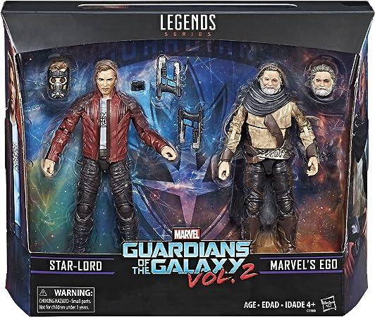 Marvel Legends Guardianes de la Galaxy Vol. 2 Ego y Star-Lord 2 ...