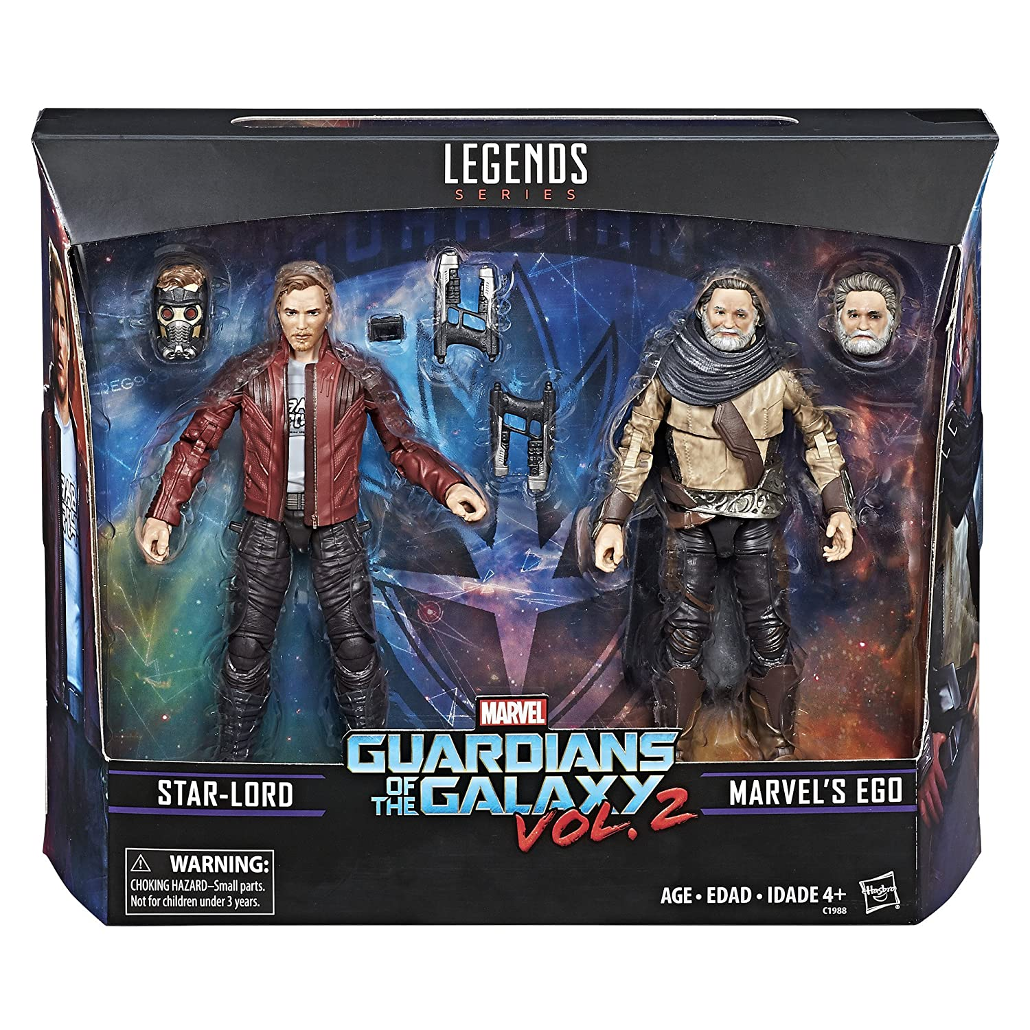 Marvel Legends Guardians of the Galaxy Vol. 2 marvel' S eGo & star-lord 2-pack