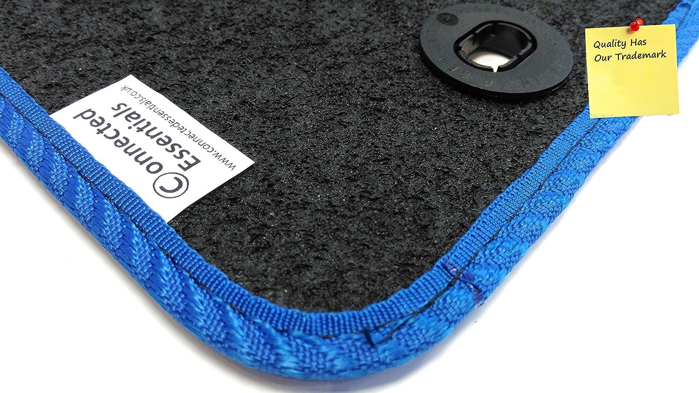Connected Essentials Tapis de sol de voiture pour  Corsa Mod/èles de 2001 /à 2007