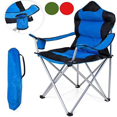 Astounding Tresko Camping Chair Foldable Up To 150 Kg Fishing Chair Onthecornerstone Fun Painted Chair Ideas Images Onthecornerstoneorg