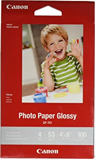 Amazoncom Canonink Glossy Photo Paper 85 X 11 100 Sheets