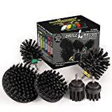 The Ultimate No-Wire Grill Brush Kit - BBQ Accessories - Drill Brush - Rust Remover - Cast Iron Skillet - Grill Cleaner - BBQ