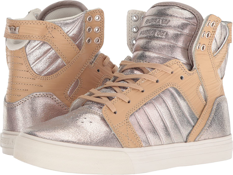 Supra Women's Skytop Sneaker B074KKWX9W 7 M US|Champagne-bone