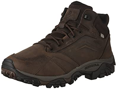 95e55f4439f Merrell Men's Moab Adventure Mid Waterproof High Rise Hiking Boots