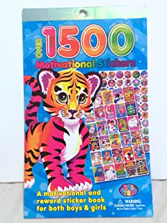 LISA FRANK Motivational Reward Stickers