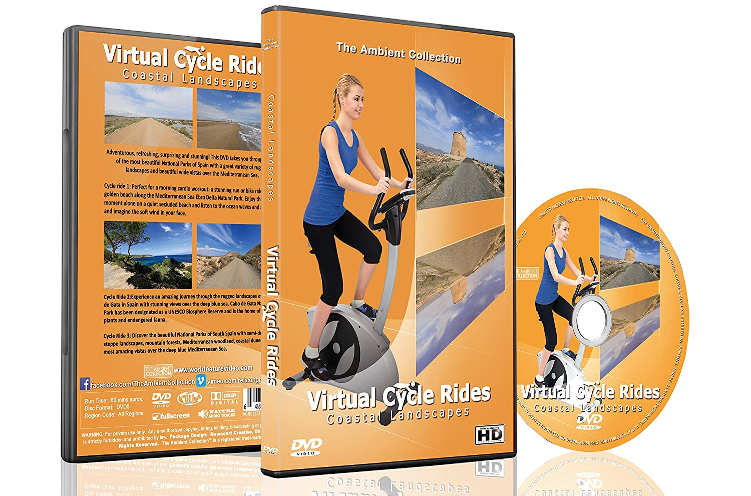 Virtual Cycle Rides - Coastal Landscape - For Indoor Cycling ...
