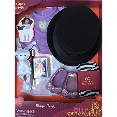 Our Generation Magic Trick Deluxe Outfit: Toys & Games