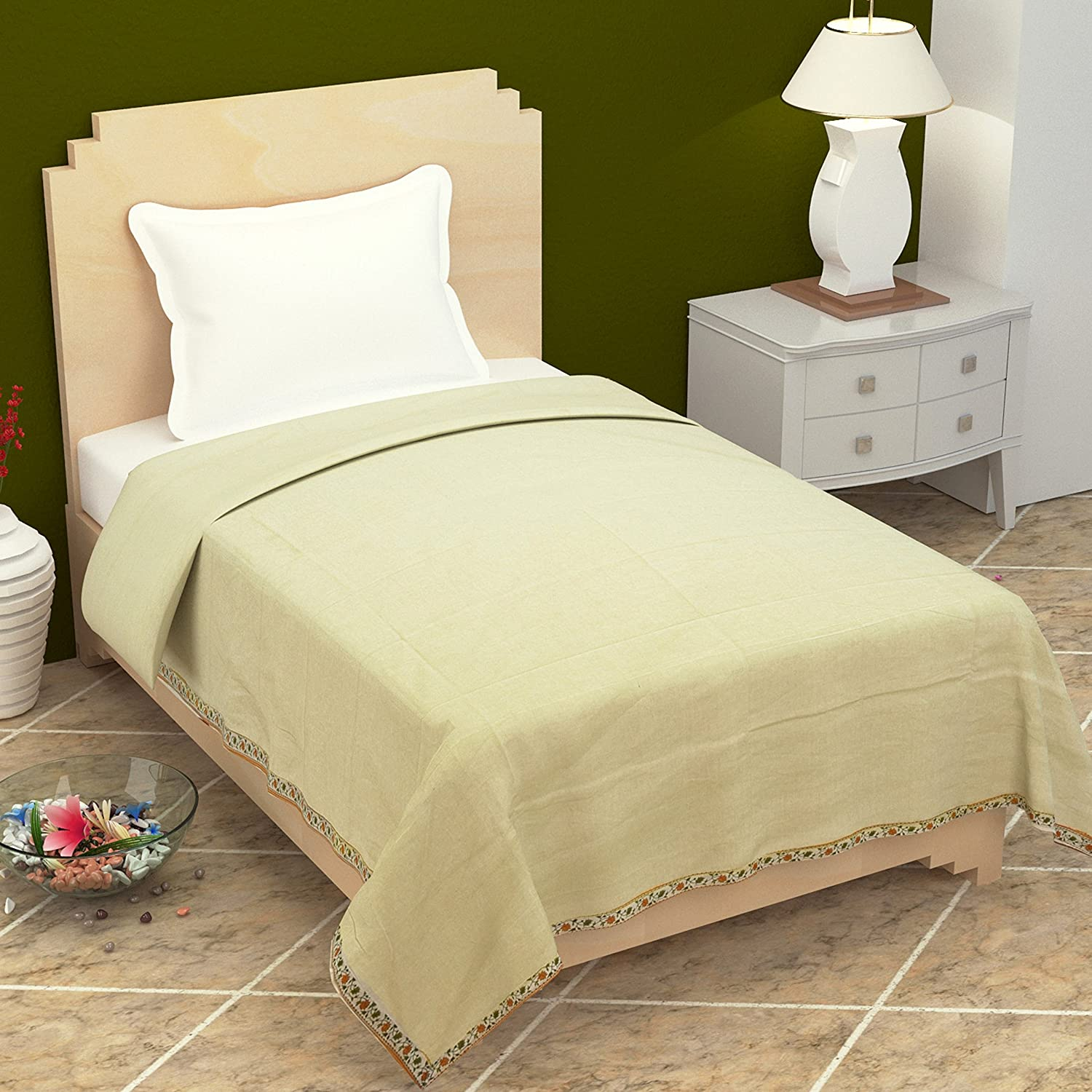 Cotton Top Cooling Sheets for Single Bed