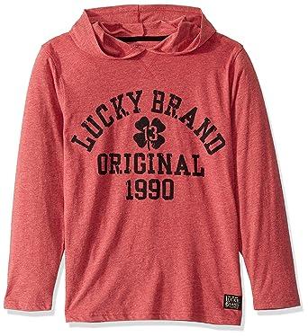 Lucky Brand Boys Long Sleeve Hoody