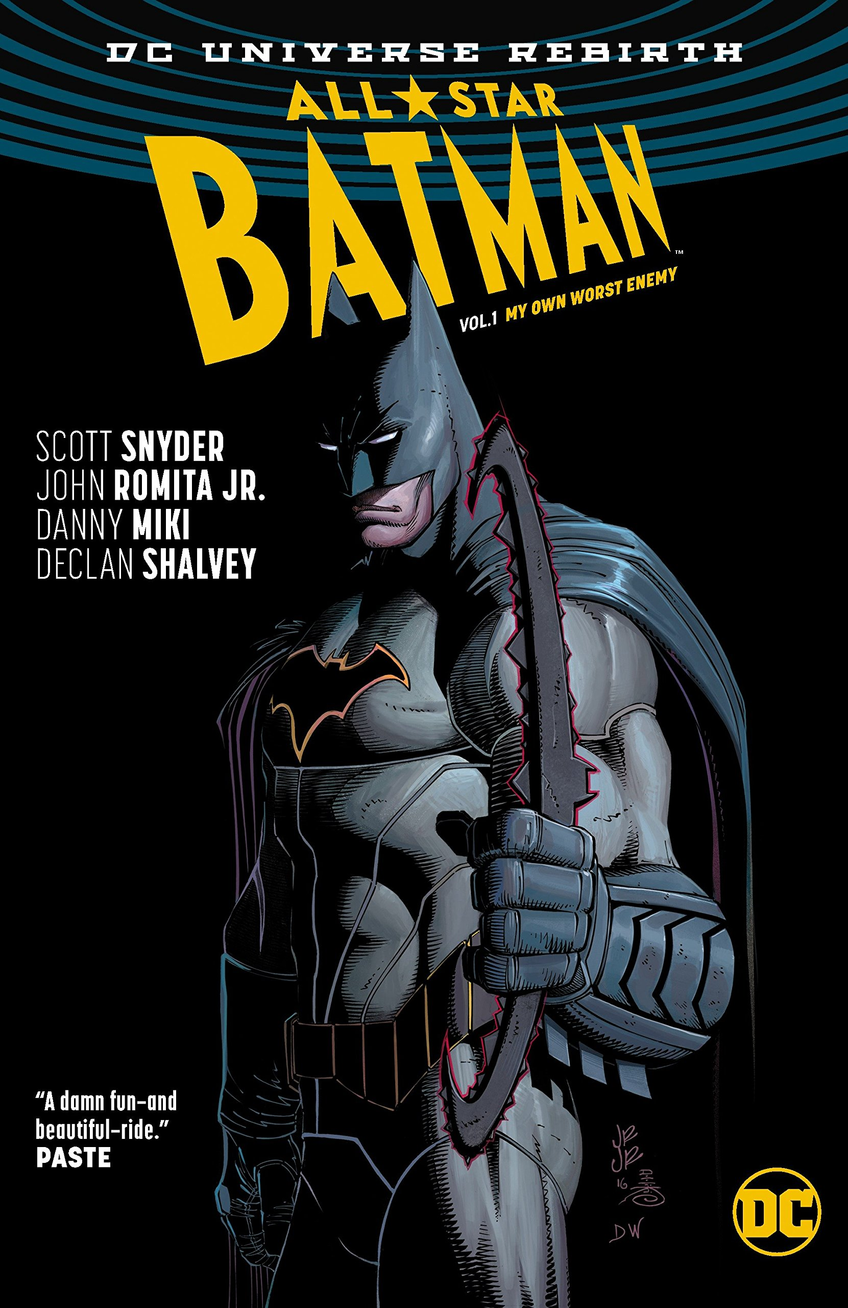 Amazon com: All Star Batman Vol  1: My Own Worst Enemy