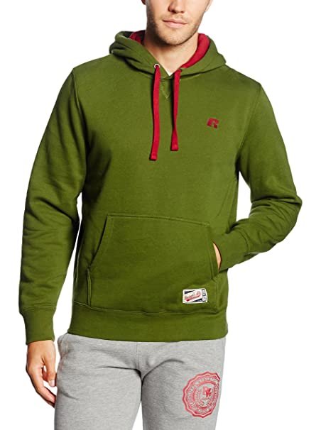 Russell Athletic Hooded-Logo Embd e5e331ec4c4de