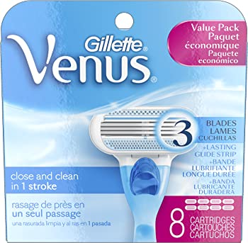 8-Count Gillette Venus Original Women's Razor Refill Cartridges