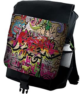 6ffc55d825 Lunarable Abstract Backpack
