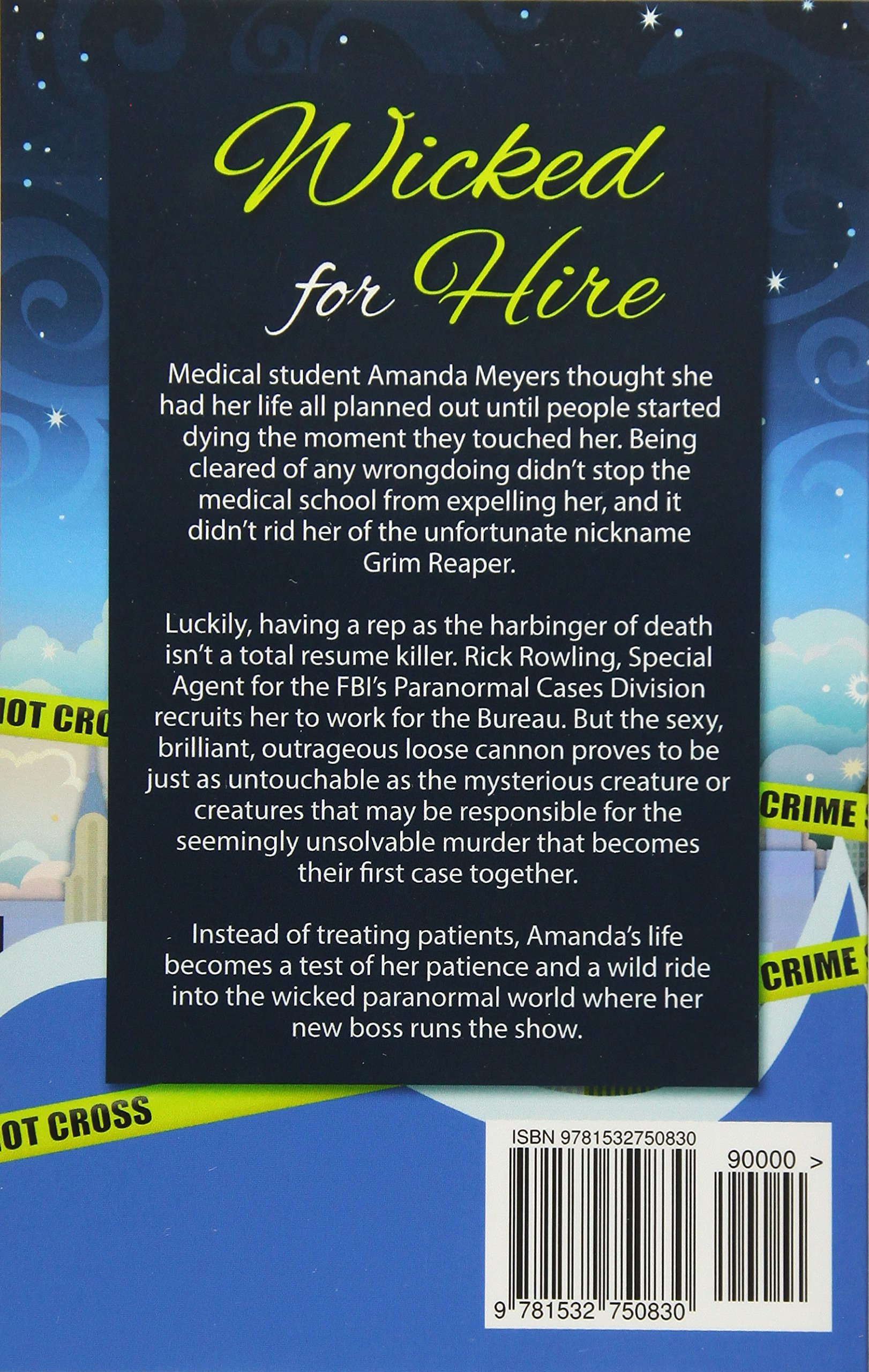 amazon com wicked for hire paranormal in manhattan mystery
