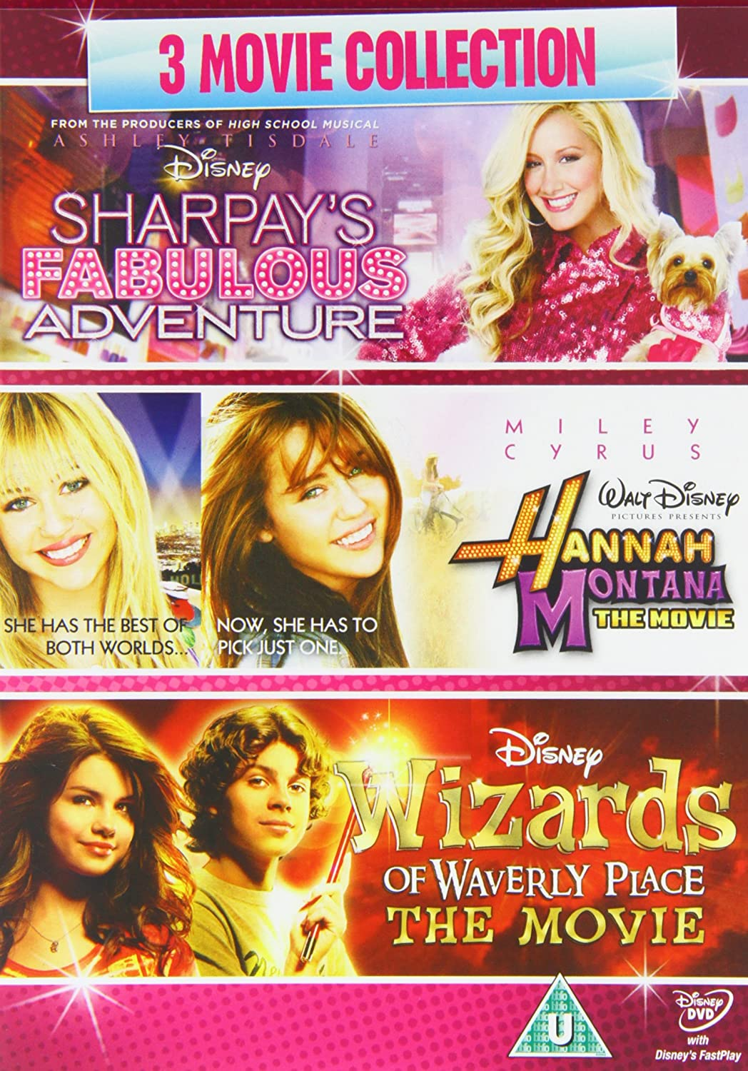 disney 3 movie collection sharpay u0027s fabulous adventure 2011
