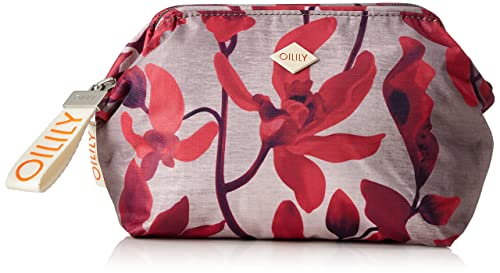 Oilily Ruffles Cosmeticpouch Mhz 3, Pochettes femme, Rot (Dark Red), 9x15x20 cm (B x H T)