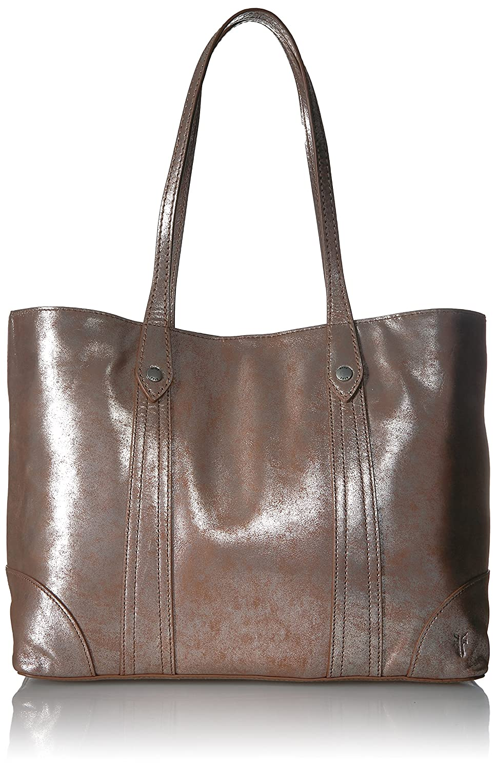 FRYE Melissa Shopper Tote Leather Handbag Beige DB181
