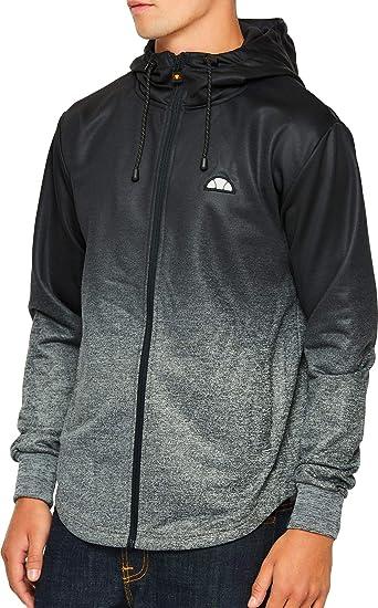 2f45ce4513 ellesse Men's Vieri Zip Hoodie, Black: Amazon.co.uk: Clothing
