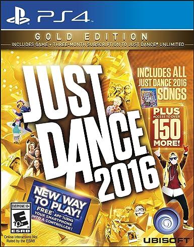 Just Dance 2016 (Gold Edition) - PlayStation 4 by Ubisoft: Amazon.es: Videojuegos