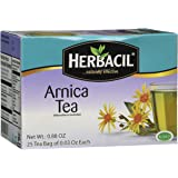 Midway Importing Herbacil Arnica Tea Bags, 0.88 Ounce