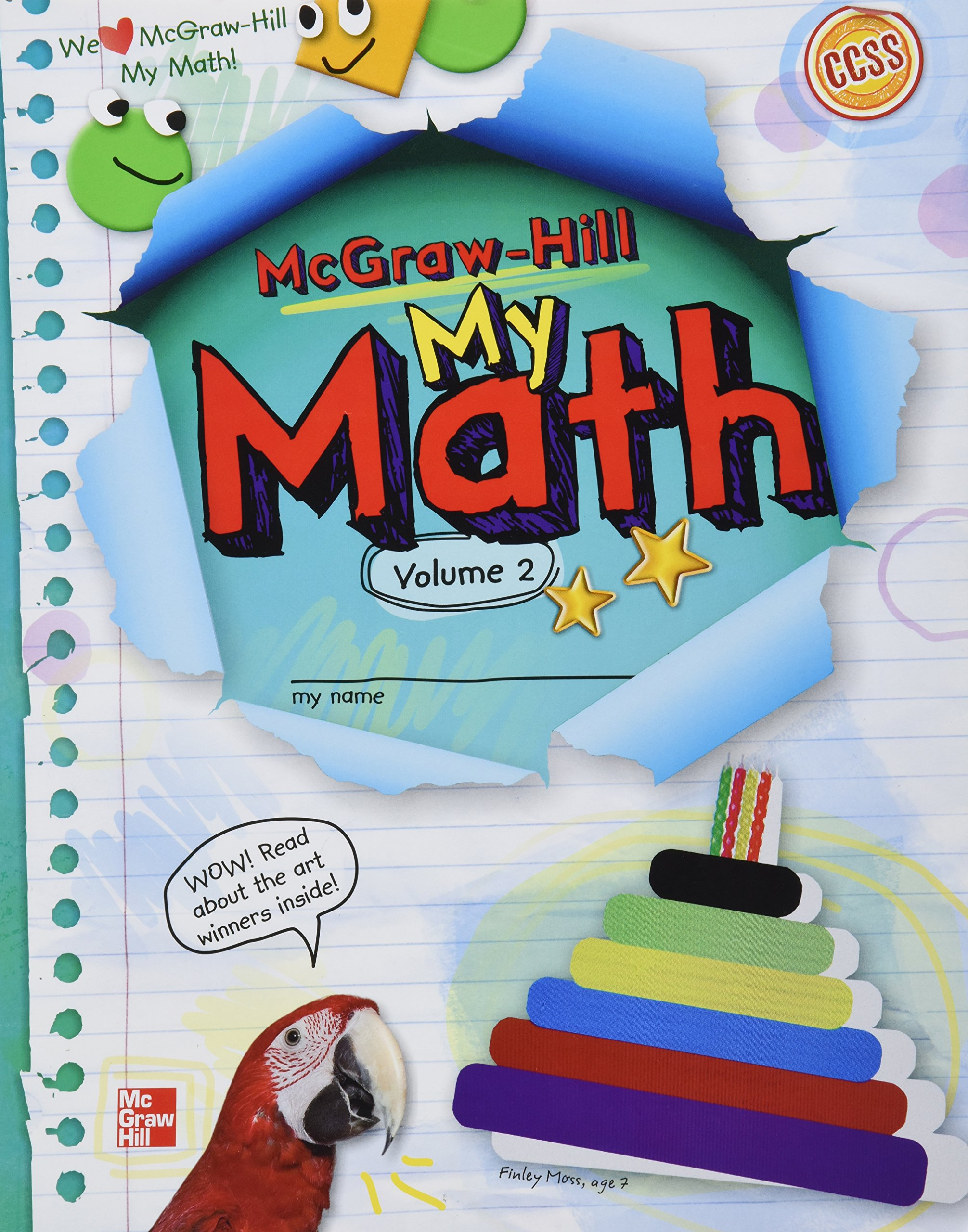 Reviews: McGraw Hill My Math, Grade 2, Vol. 2- Children\'s Books On ...