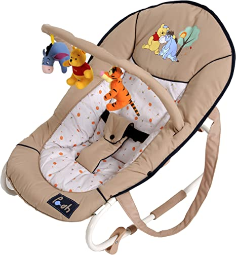 1d00bfd5348 Hauck Disney Baby Bungee Deluxe Baby Bouncer Pooh Charm  Amazon.co.uk  Baby