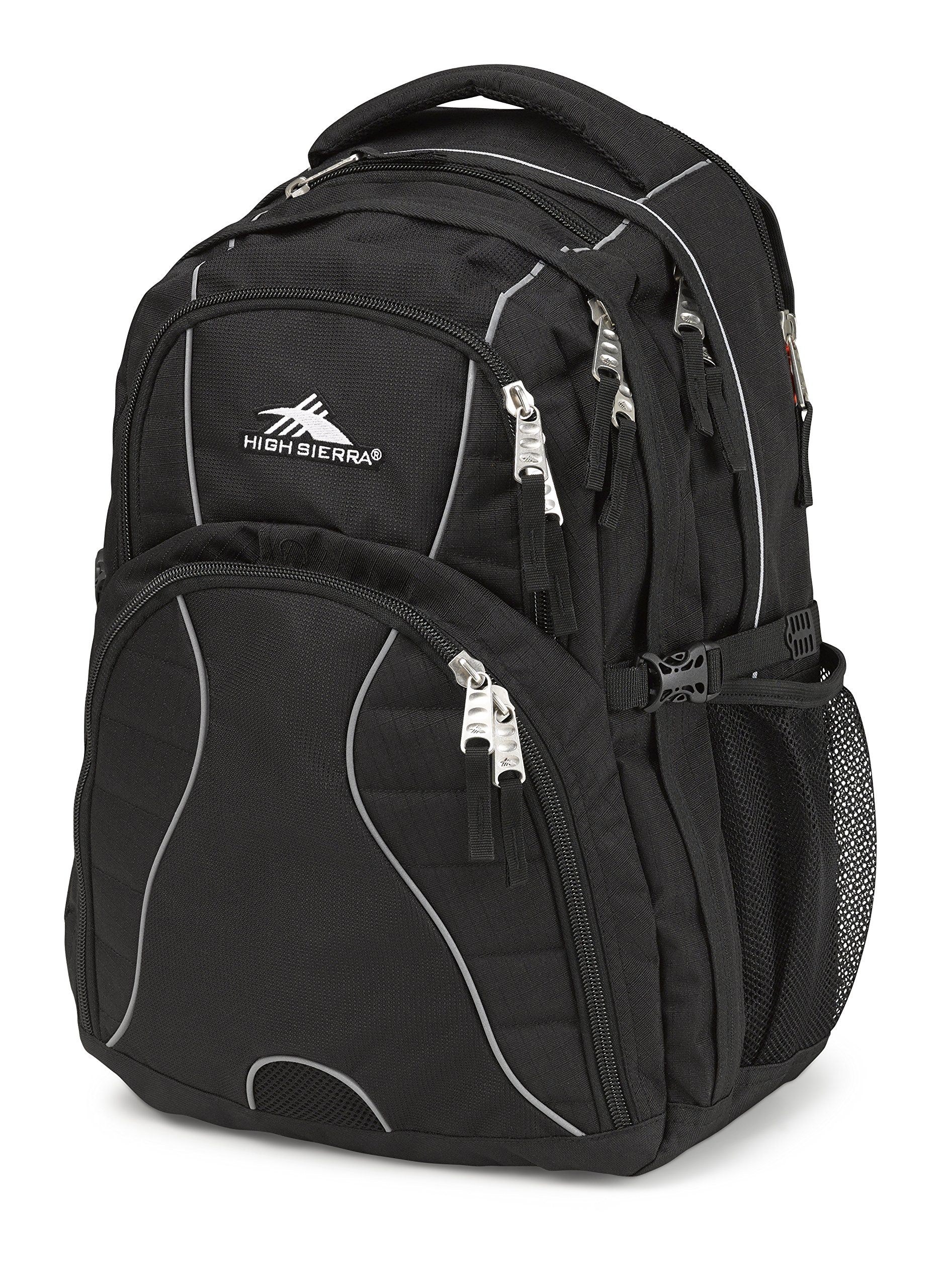 High Sierra Swerve Backpack, Black