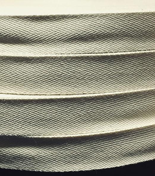 Telliswelt - Cinta de costura (1 m, 100% algodón, 15 mm de ancho ...