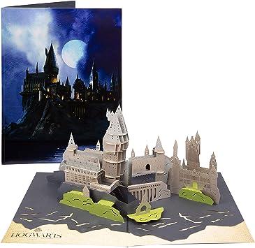 Amazon.com: Harry Potter Hogwarts Castle Pop-Up Card ...