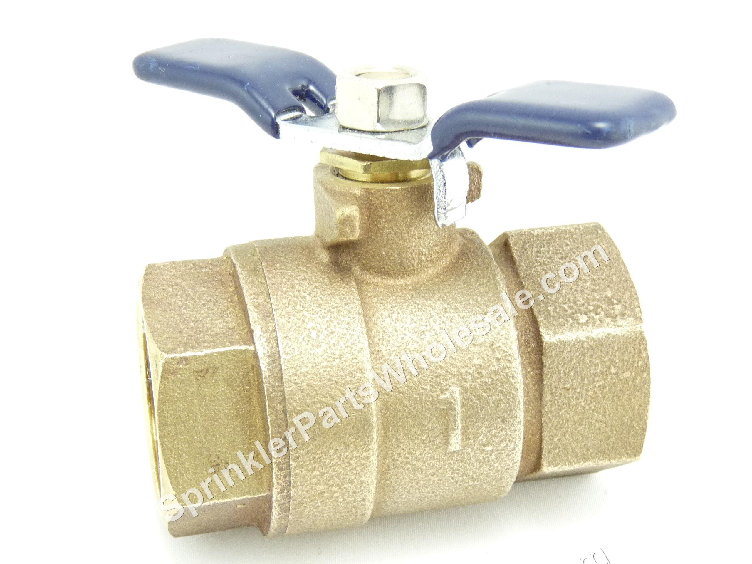 Febco Shut off valve ball valve 1''