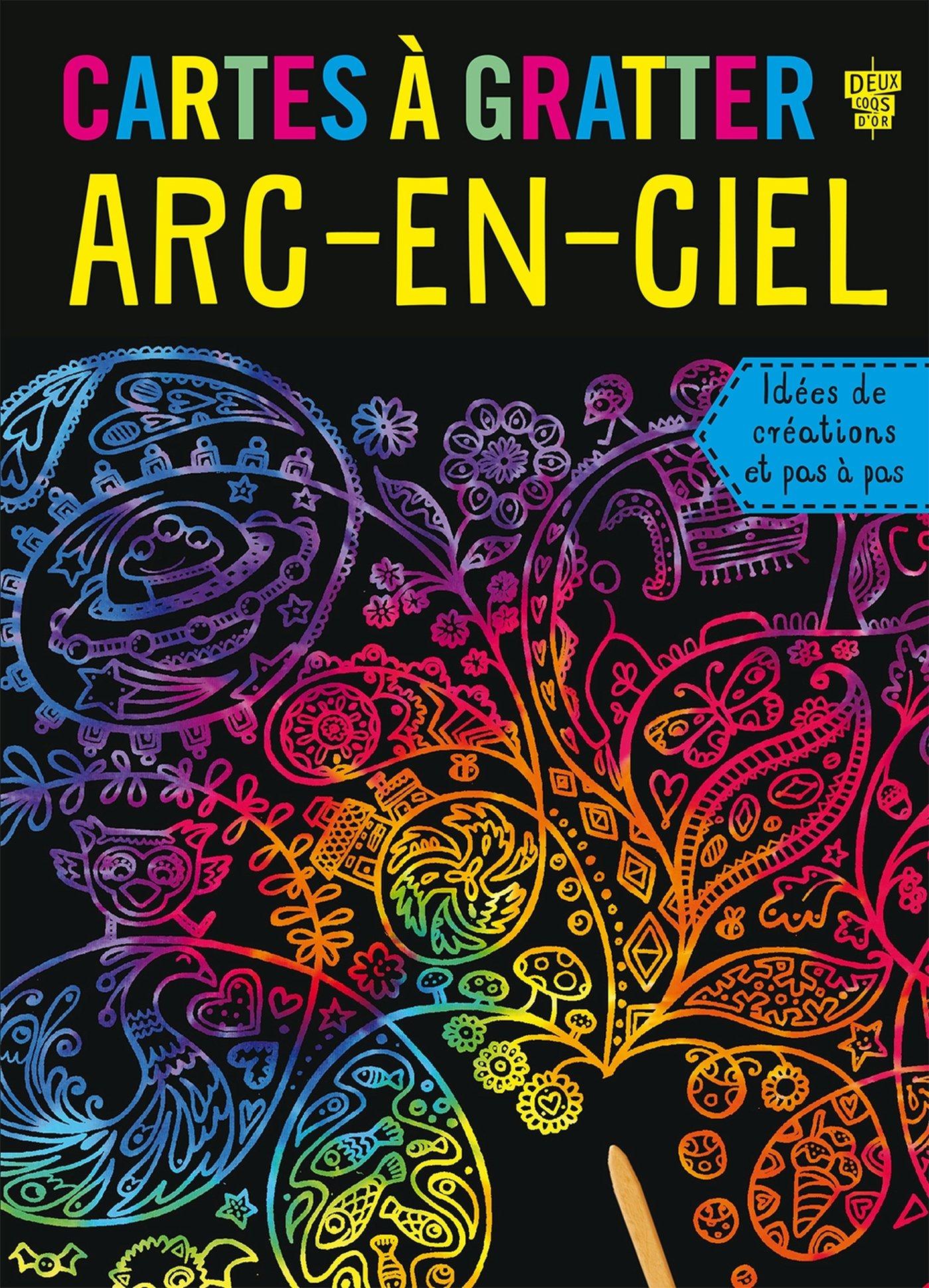 Cartes A Gratter Arc En Ciel Mes Cartes A Amazon Co Uk Deux Coqs D Or Koechlin Sophie 9782011206725 Books