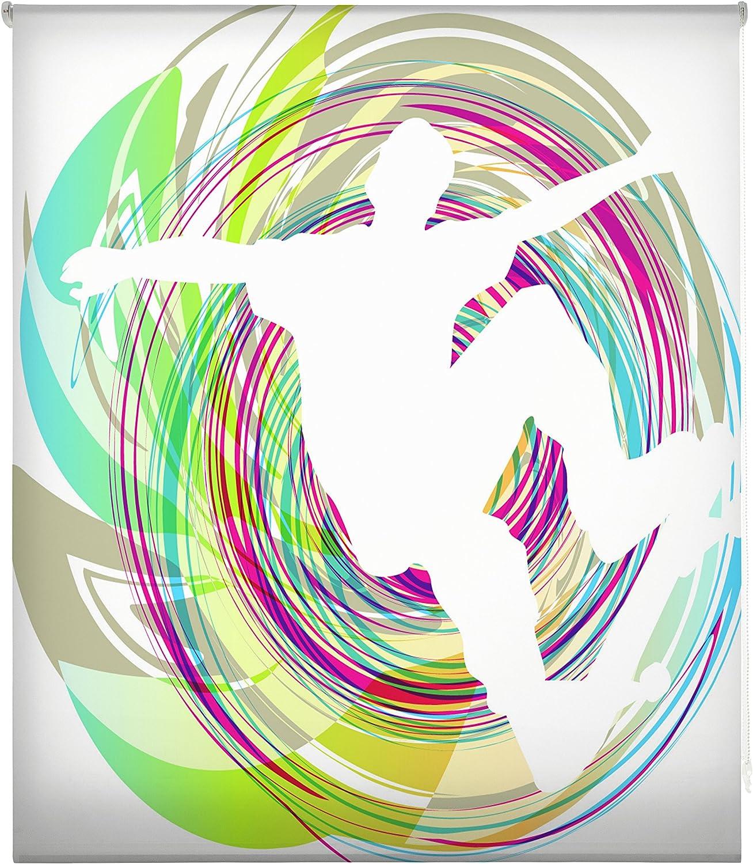 Blindecor Estor enrollable translúcido digital, Juvenil,W-J-06868,130X180 cm