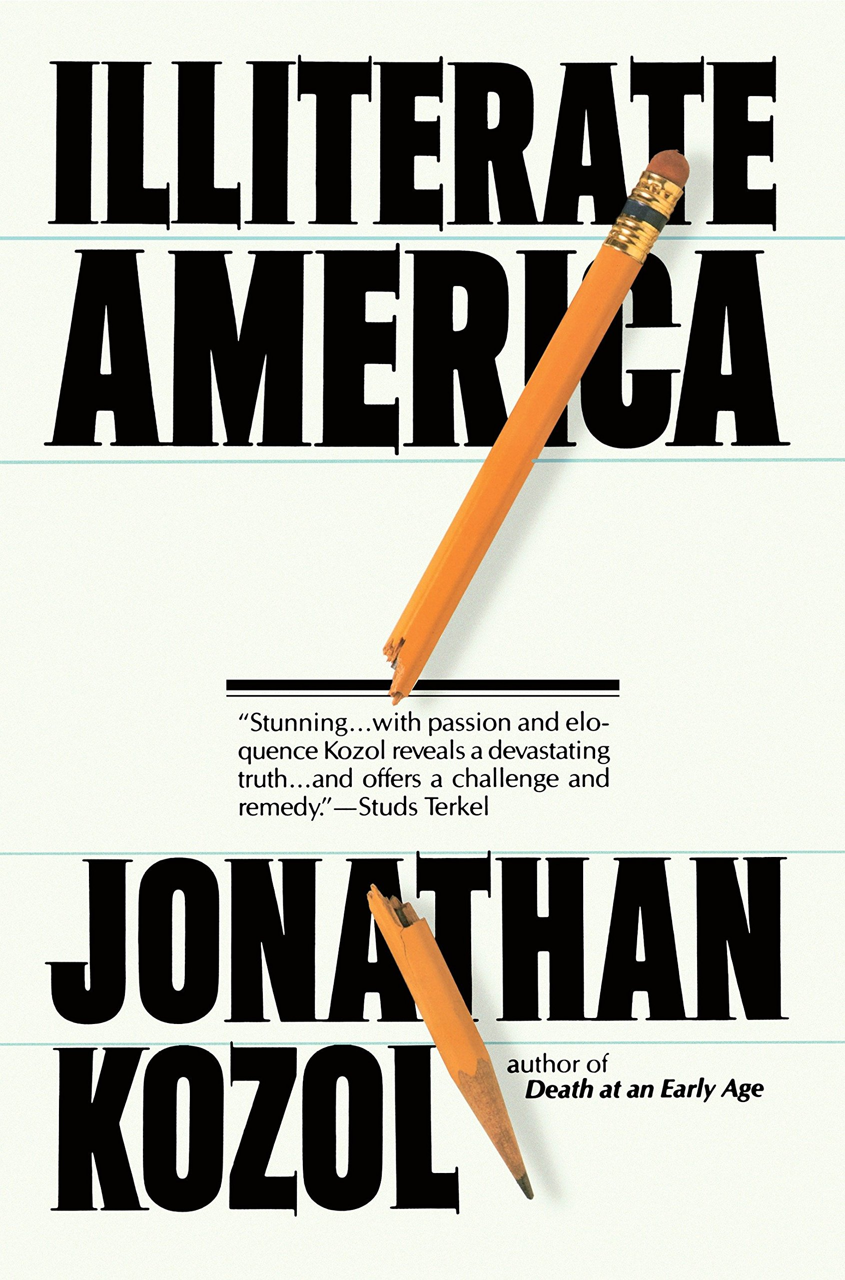 jonathan kozol the human cost of an illiterate society summary