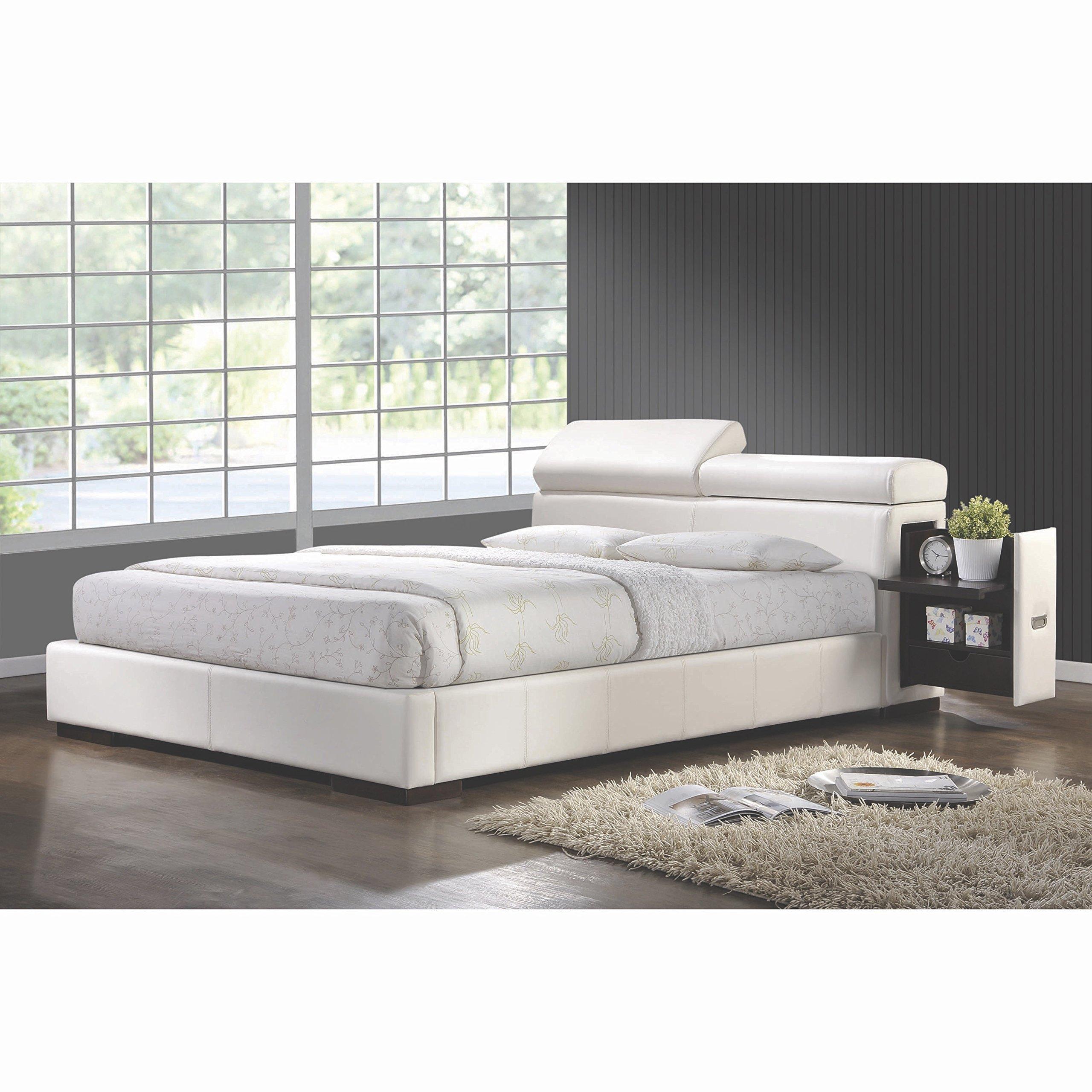 Coaster Home Furnishings 300379KE Contemporary Bed, King, White/White