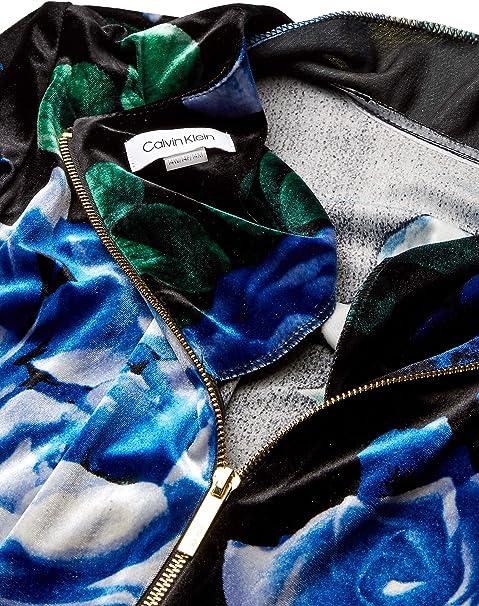 Calvin Klein Damska Plus Size Three Quarter Sleeve Belted A-line Dress Kleid: Odzież