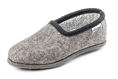 Orthopant Pantofole in Feltro Classic - Feltro e cottone per Una ... 63306244817