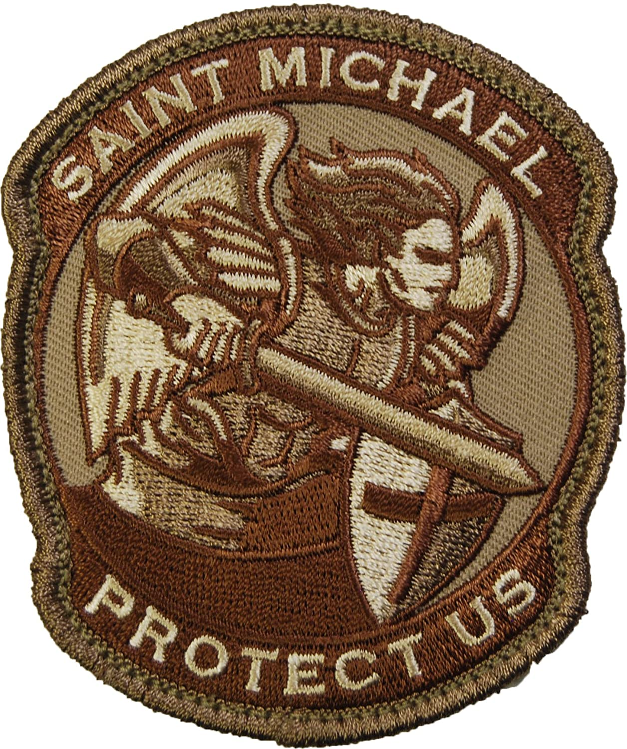 SAINT-M MODERN DESERT MIL SPEC PATCH Mil-Spec Monkey