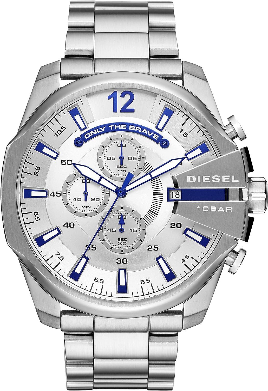 Diesel Reloj Cronógrafo para Hombre de Cuarzo con Correa en Acero Inoxidable DZ4477