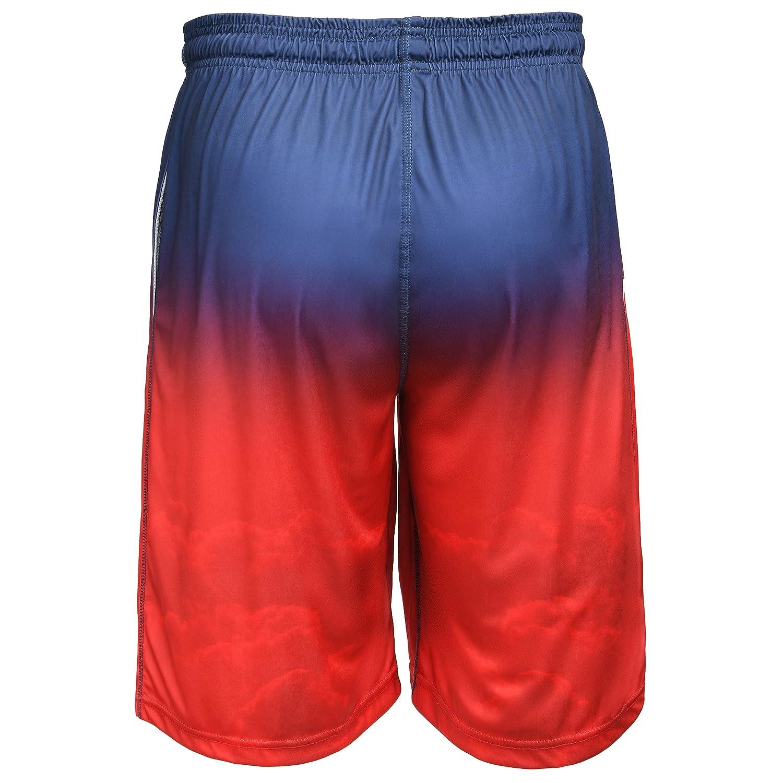 FOCO MLB New York Mets Mens Gradient Big Logo Training Shortgradient Big Logo Training Short Team Color X-Large