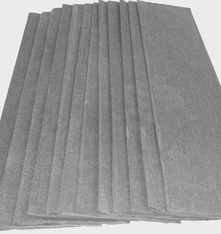 Crepe Paper Folds Sheets X Top Quality Crepe Paper 15 Vibrant Colours Per Pack