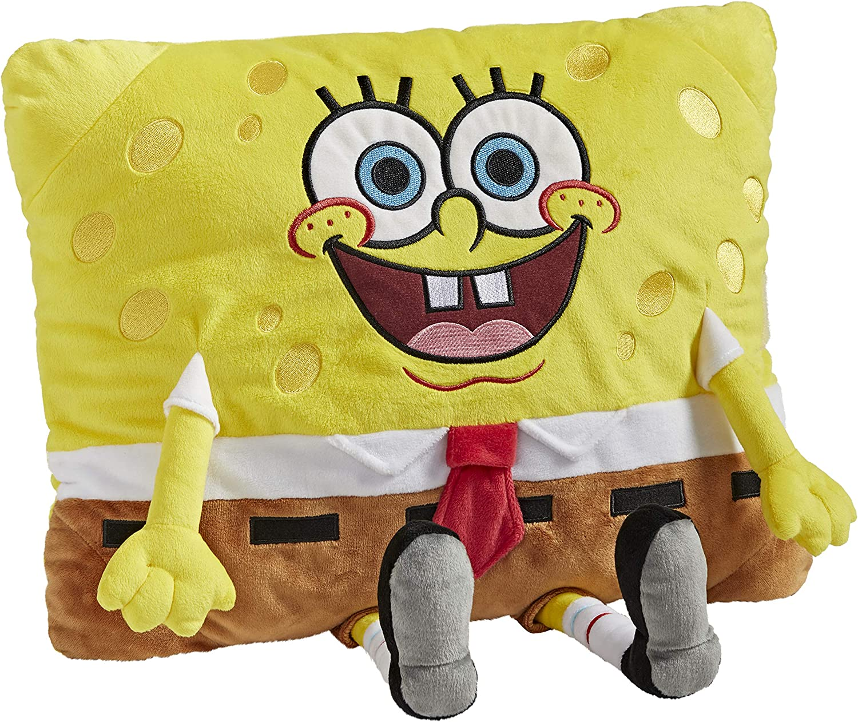 Pillow Pets Nickelodeon Spongebob Squarepants Stuffed Animal Toy (03202506K)
