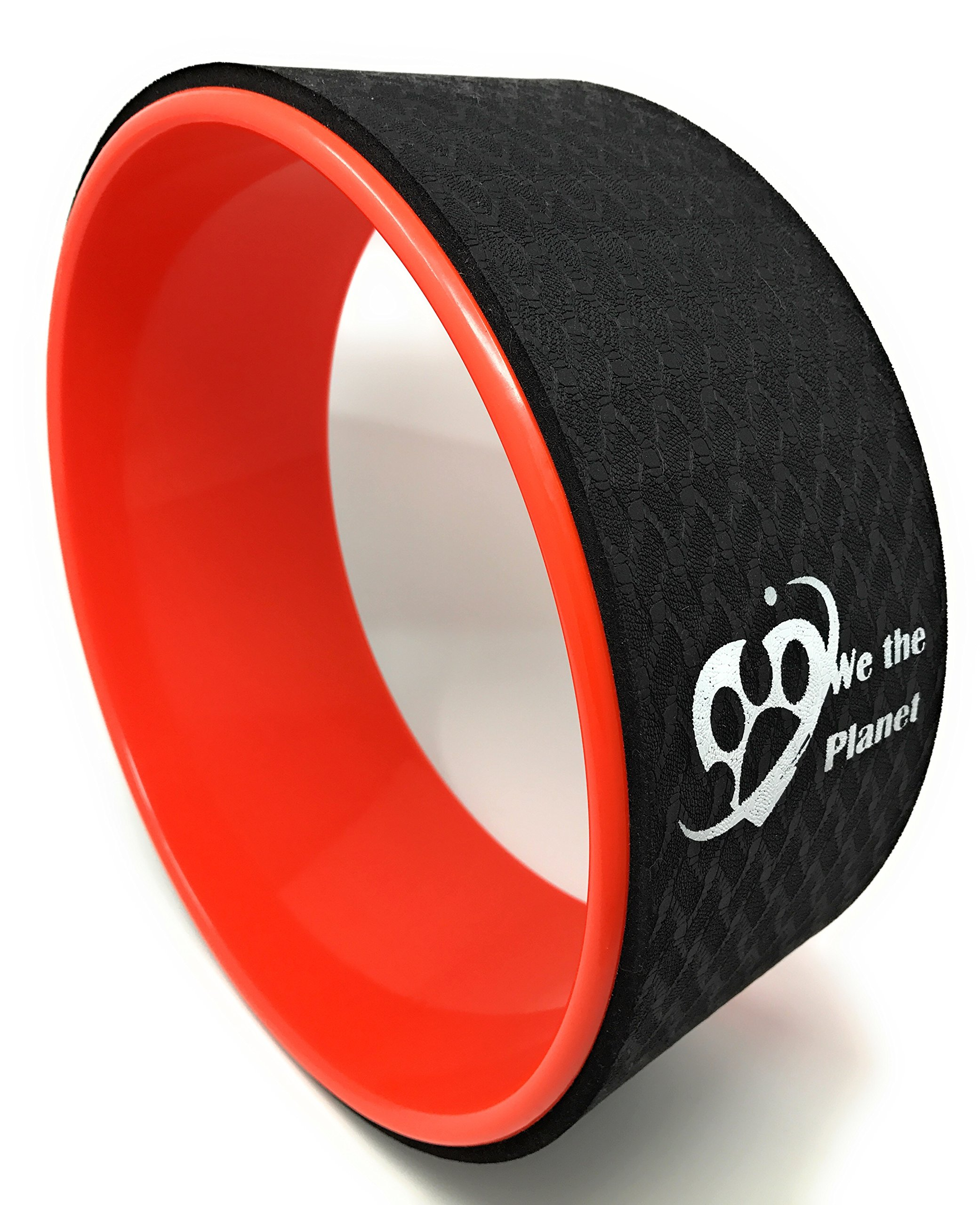 We The Planet Yoga Wheel | Eco-Friendly Dharma/Back Stretcher Wheel |Roller Wheel Improves Backbends and Technique
