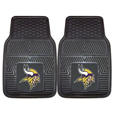 FANMATS NFL Minnesota Vikings Vinyl Heavy Duty Car Mat