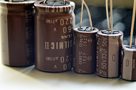 6 pcs Elna Silmic II Condensateur 50 V 2.2uf Audio Grade Premium