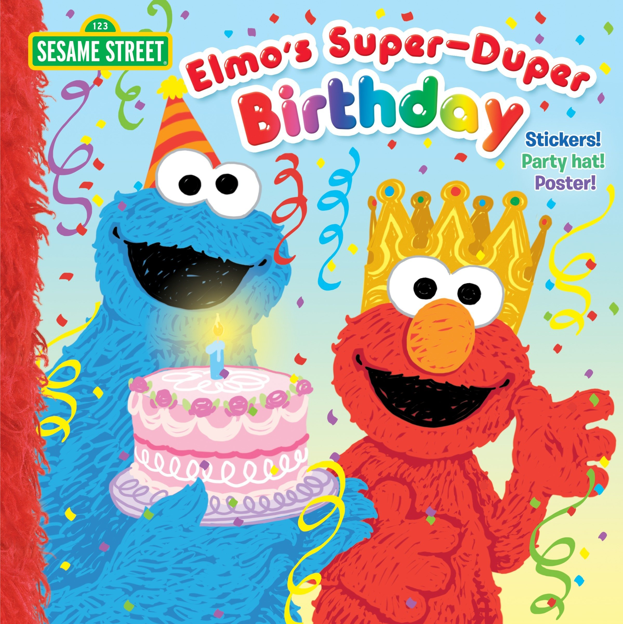 Elmos Super Duper Birthday Sesame Street PicturebackR Naomi Kleinberg Joe Mathieu 9780399552168 Amazon Books